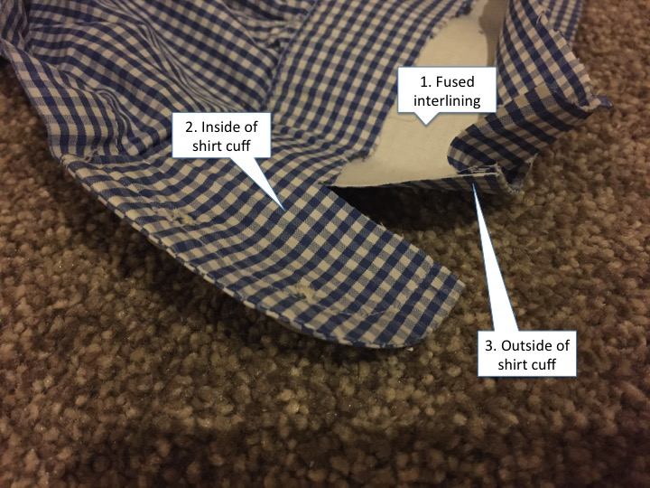 Charles Tyrwhitt review - cuff manufacture