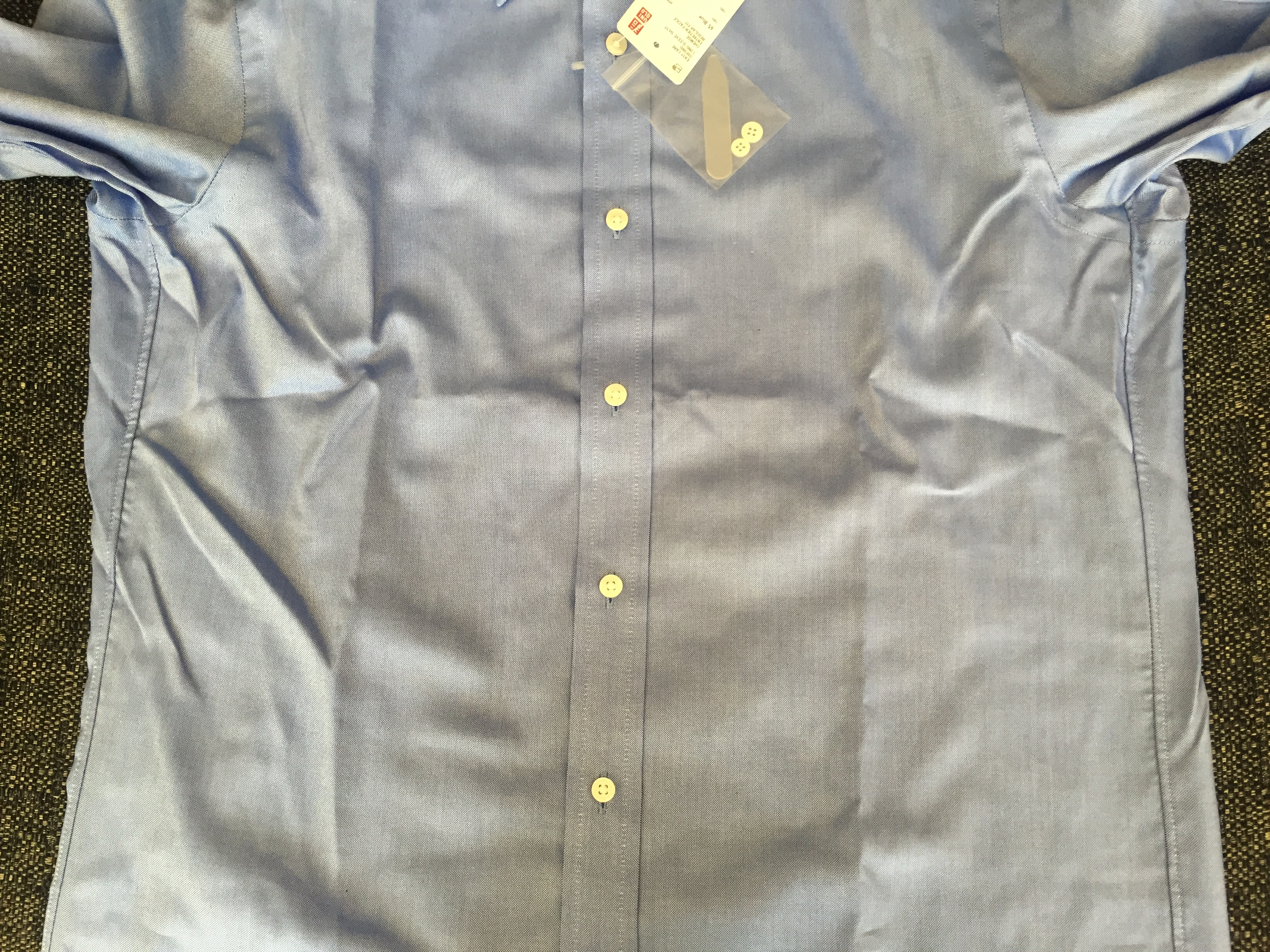 Uniqlo Stretch Slim Fit - Shirt Fit Guide