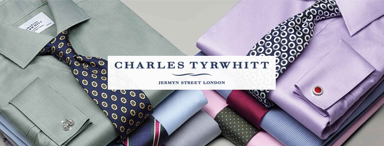 Image shows Charles Tyrwhitt shirts as part of the Charles Tyrwhitt review